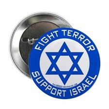 "I Support Israel 2.25"" Button"