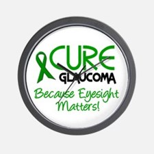 CURE Glaucoma 2 Wall Clock