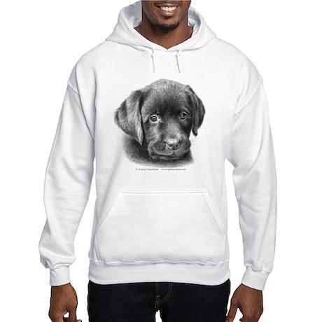 Labrador Puppy Hooded Sweatshirt