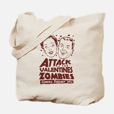 Valentines Zombies Tote Bag