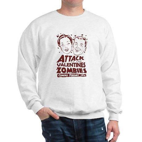 Valentines Zombies Sweatshirt