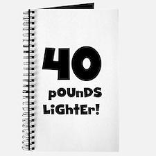 40 Pounds Lighter Journal