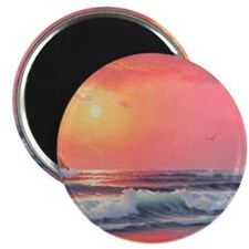 """Whaleshead Waters"" 2.25"" Magnet (10 pack)"