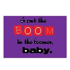 Boomer Baby Postcards (Package of 8)