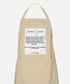 Apron for the Boomer Babe Declaring Her WORTH!