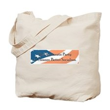 Democrats a cleaner better so Tote Bag