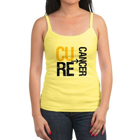 Cure Cancer (Childhood) Jr. Spaghetti Tank