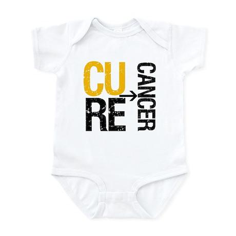 Cure Cancer (Childhood) Infant Bodysuit