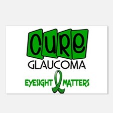 CURE Glaucoma 1 Postcards (Package of 8)