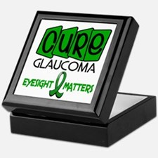 CURE Glaucoma 1 Keepsake Box