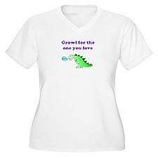 Unique Valentine dinosaurs T-Shirt