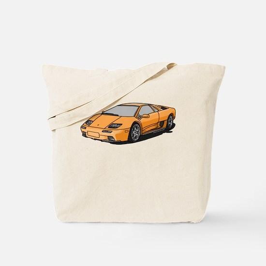 Lamborghini Diablo 2001 Tote Bag