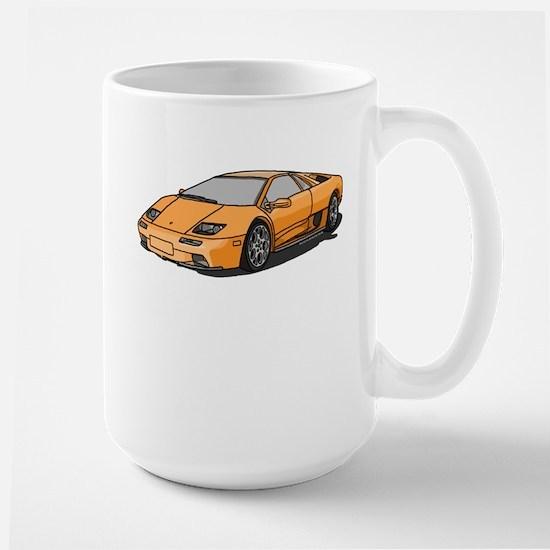 Lamborghini Diablo 2001 Large Mug