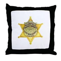 Morongo Basin Posse Throw Pillow