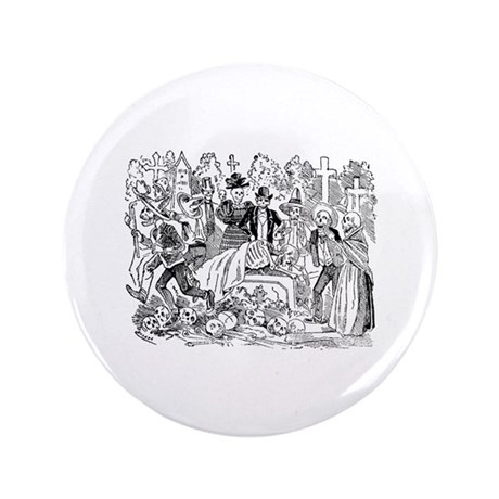 "Llorando de Hueso 3.5"" Button (100 pack)"