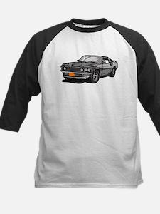 1969 Ford Mustang Mach 1 Kids Baseball Jersey