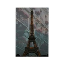 Eiffel Tower at Night Rectangle Magnet