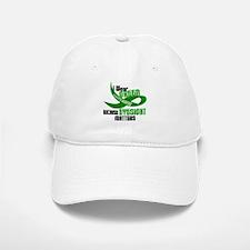 I Wear Green 33 (Eyesite Matters) Baseball Baseball Cap