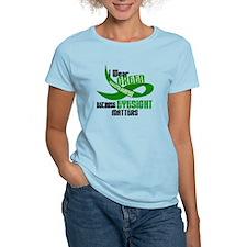 I Wear Green 33 (Eyesite Matters) T-Shirt