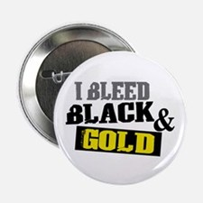"Bleed Black and Gold 2.25"" Button"