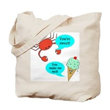 Cute Seafood lover Tote Bag