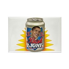 Obama is BUSH Light Rectangle Magnet