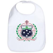 Samoa Coat of Arms Bib