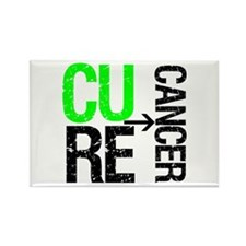 Cure (Lymphoma) Cancer Rectangle Magnet