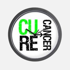 Cure (Lymphoma) Cancer Wall Clock
