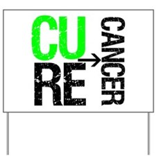Cure (Lymphoma) Cancer Yard Sign