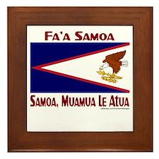 SAMOA, MUAMUA LE Atua Framed Tile