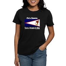 Amerika Samoa Flag Tee