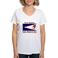 Amerika Samoa Flag Shirt