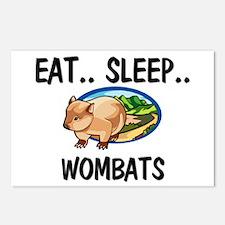 Eat ... Sleep ... WOMBATS Postcards (Package of 8)