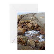 Along the retaining wall Greeting Cards (Pk of 10)