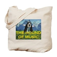 The HOUND of Music Tote Bag
