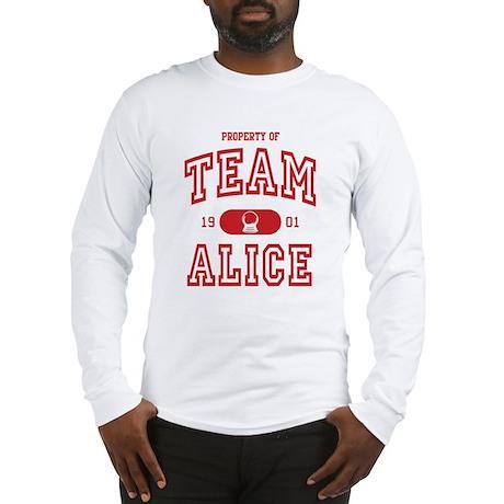 Team Alice (A) Long Sleeve T-Shirt