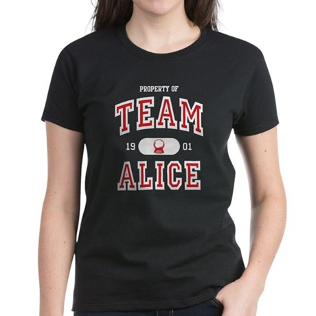 Team Alice (B) Women's Dark T-Shirt