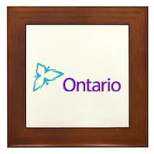Ontario Framed Tile