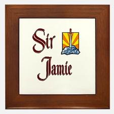 Sir Jamie Framed Tile