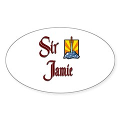 Sir Jamie Oval Decal