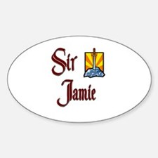 Sir Jamie Oval Decal