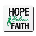 HopeBelieveFaith LiverCancer Mousepad