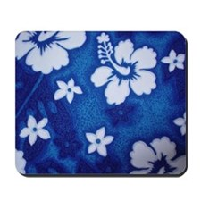 Tropical DRK blue Mousepad