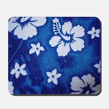 Tropical DRK blue Mousepad