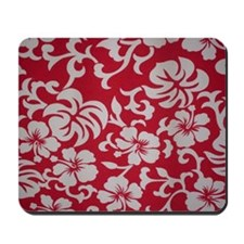 Tropical red Mousepad