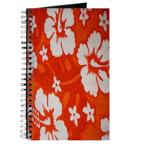Tropical orange Journal