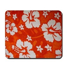 Tropical orange Mousepad