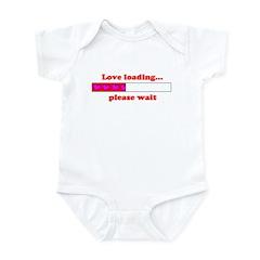 LOVE LOADING...PLEASE WAIT Infant Bodysuit