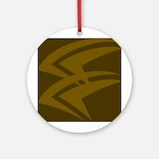 Polynesian print 1 Ornament (Round)